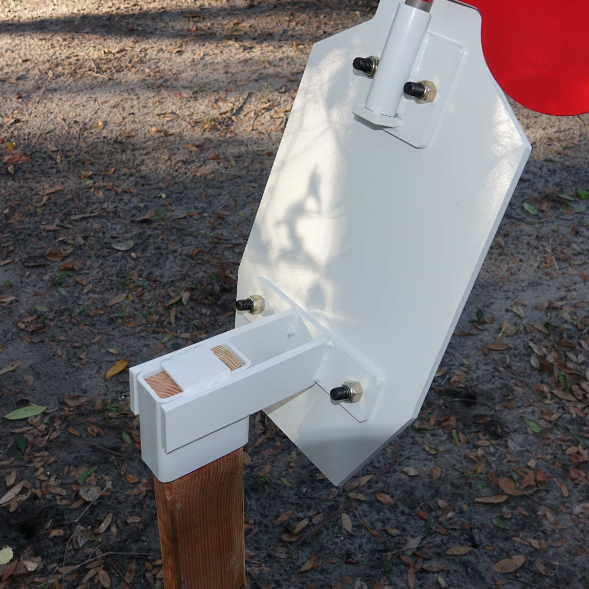 8'' AR500 Steel Targets With 2x4 Mount