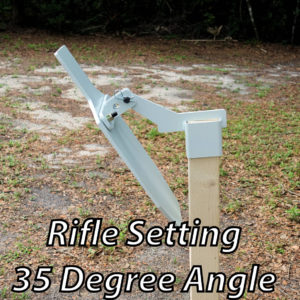 close range rifle setting sideview