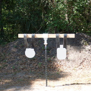 t post 2x4 hanger system for Ar500 targets