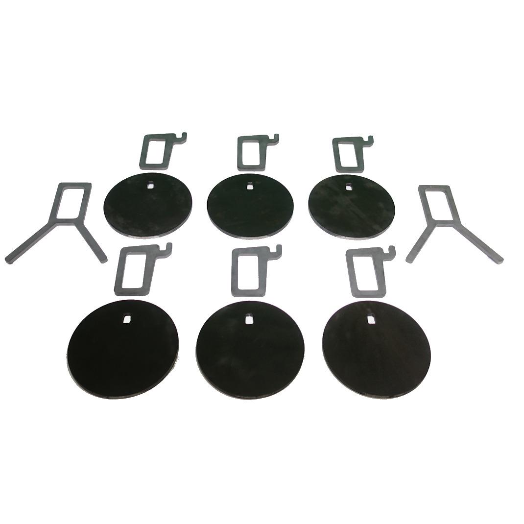 AR500 Protable plate Rack Target System  sc 1 st  Sitargets.com & Portable 8\